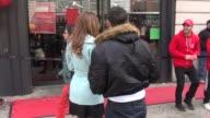 Maria Menounos her boyfriend Keven Undergaro outside of Pie Face as part of Celebrity Apprentice in Celebrity Sightings in New York