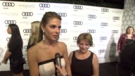 Maria Menounos on kicking off Golden Globe week at this party her Martin Katz jewelry at the Audi And Martin Katz Celebrate The 2012 Golden Globe...