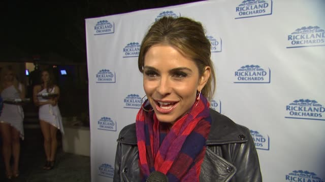 Maria Menounos on why she wanted to be the face off Rickland Orchards loving the new greek yogurt gelato the causes benefiting from the event if she...