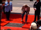 Maria Shriver at the Dedication of Arnold Schwarzenegger's Footprints at Grauman's Chinese Theatre in Hollywood California on July 14 1994