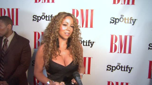 Mariah Carey on being honored at BMI Urban Awards 2012 on 9/7/12 in Los Angeles CA