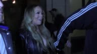 INTERVIEW Mariah Carey talks about support for Nick Cannon's decision to leave America's Got Talent as they leave dinner at Katsuya Restaurant in...