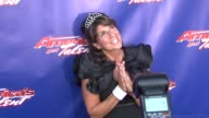 Mariann from Brooklyn Howard Stern superfan at 'America's Got Talent' Red Carpet at New Jersey Performing Arts Center on July 02 2012 in Newark New...