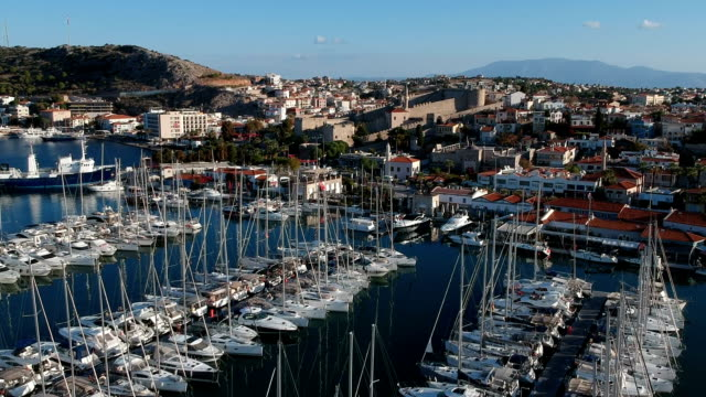 Marina and Cityscape of Cesme