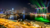 Marina Bay Laser light show - Singapore