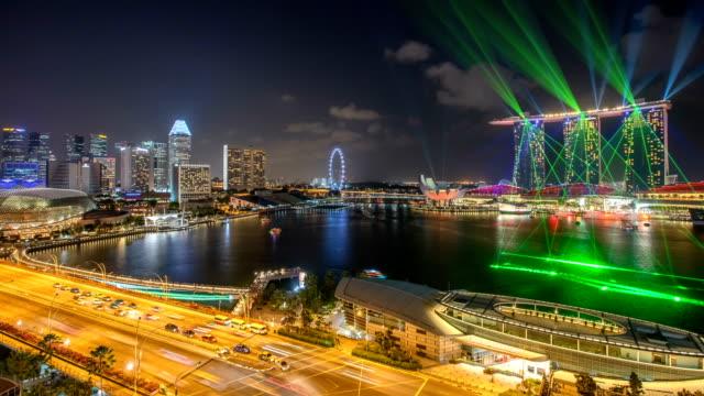 Marina Bay Laser light show - Singapore