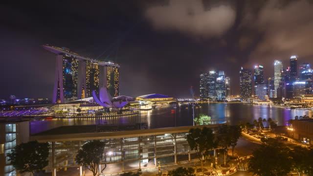 Marina Bay Singapore at Night