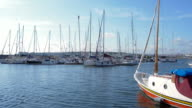 Marina view on sunny day in Istanbul I