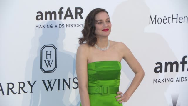 Marion Cotillard at amfAR 22nd Cinema Against AIDS Gala Presented By Bold Films And Harry Winston at Hotel du CapEdenRoc on May 21 2015 in Cap...