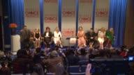 Mark Burnett Elisha Cuthbert Sharon Osbourne Julianne Hough Kaley Cuoco Joe Jonas Jennifer Morrison and Busy Philipps at the People's Choice Awards...