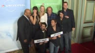 Mark Christopher Lawrence Sarah Lancaster Joshua Gomez Yvonne Strahovski Scott Krinsky Zachary Levi Vik Sahay Adam Baldwin at the NBC Universal's...