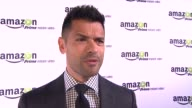 INTERVIEW Mark Consuelos on the show at Amazoncom Red Carpet Launch Party in Los Angeles CA