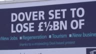 Mark Rylance backs campaign to stop dredging of Goodwin Sands Dover Sign 'Dover set to lose 1/2bn of new jobs regeneration tourism new business...