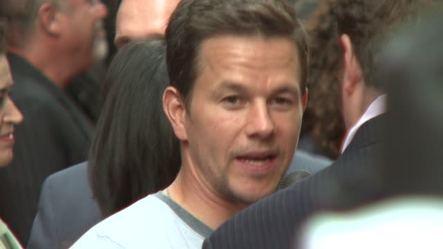 Mark Wahlberg at the 'Entourage' Fourth Season Premiere at Ziegfeld Theatre in New York New York on June 14 2007