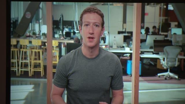 SPEECH Mark Zuckerberg at Facebook Social Good Forum In NYC at Metropolitan Pavilion on November 17 2016 in New York City