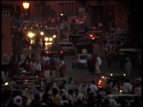Market Madness At Night: Marrakech, Marakesh Djemaa el Fna Square
