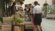 Market Stall in Brixen (Bressanone) in South Tyrol