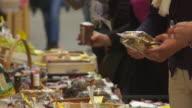 CU Market Stall in Brixen (Bressanone) in South Tyrol
