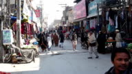 Market street Lahore, Pakistan