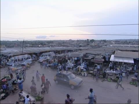 Marketplace in Ghana.