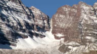 Maroon Bells snow