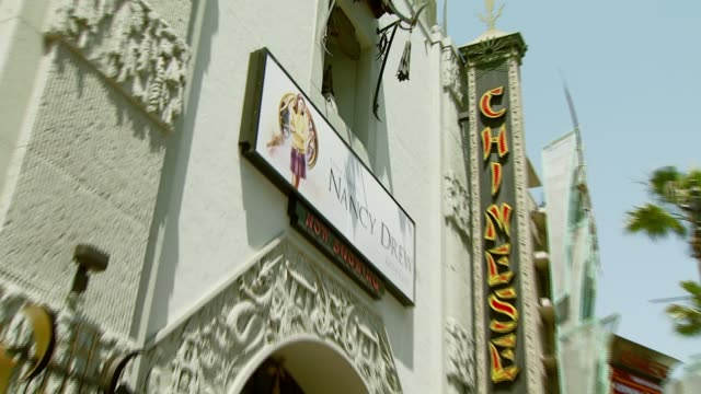 Marquee at the 'Nancy Drew' Premiere at Grauman's Chinese Theatre in Hollywood California on June 10 2007