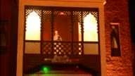 Marrakech Morocco Chez Ali famous attraction with Moroccan show