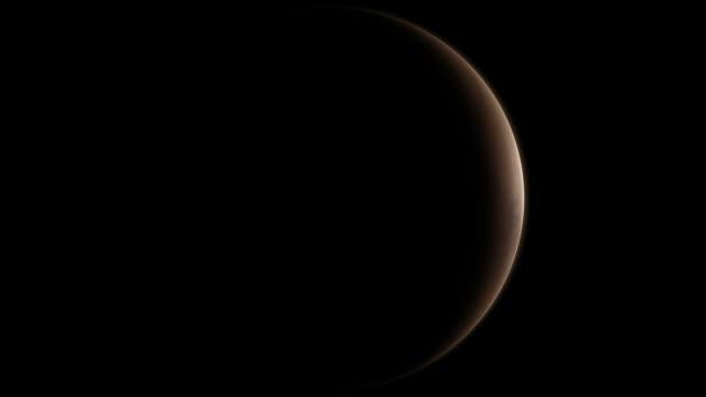 Mars - Sunrise (3D CGI 1080p)