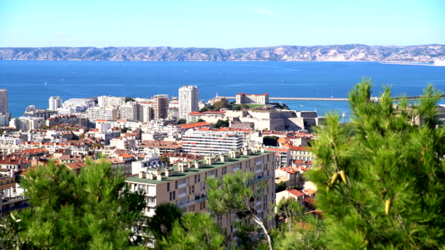 HA Marseille cityscape shots