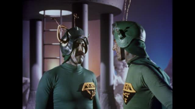 A Martian chief demands that his subordinate changes his attitude
