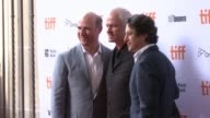 Martin McDonagh David Greenbaum and Matthew Greenfield at the 'Three Billboards Outside Ebbing Missouri' Special Screening Presented By Fox...