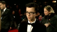Martin Scorsese makes children's film 'Hugo' Red carpet interviews Asa Butterfield interview SOT On working with Scorsese It was an honour and he is...