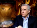 Martin Scorsese's film 'The Aviator' Scorsese interviewed SOT couldn't have made it without Leo because the project was developed with Leo he came...