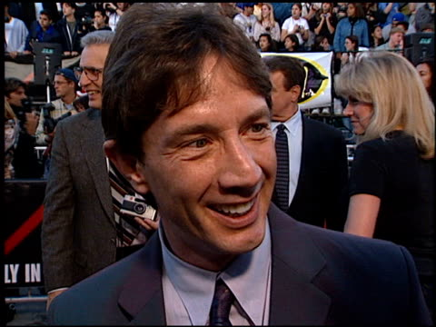 Martin Short at the Premiere of 'The X Files Fight the Future' on June 11 1998