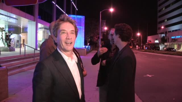 Martin Short departs Boa in West Hollywood 10/23/12