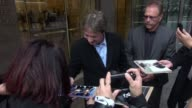 Martin Short leaves SiriusXM Satellite Radio signs for fans in Celebrity Sightings in New York