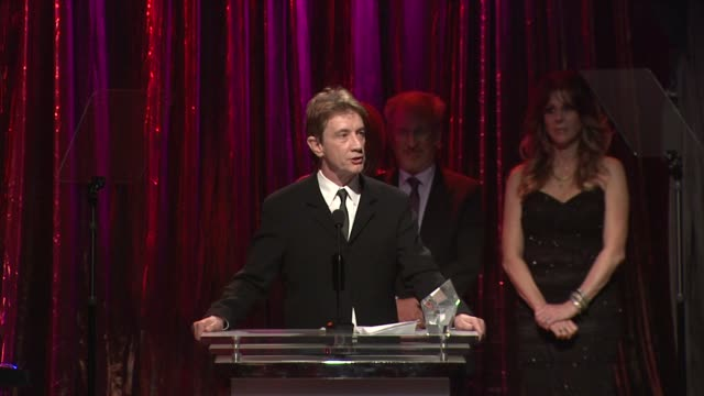 Martin Short receiving award at the 14th Annual Unforgettable Evening Benefiting The Entertainment Industry Foundation's Women's Cancer Research Fund...