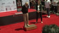 CHYRON Marvel Comics Legend Stan Lee's Hand Footprint Ceremony at TCL Chinese Theatre on July 18 2017 in Hollywood California