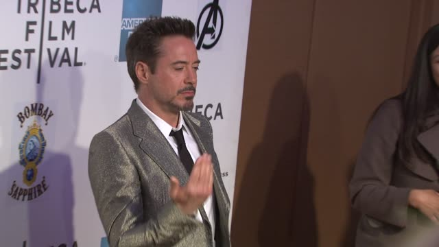 'Marvel's The Avengers' Premiere 2012 Tribeca Film Festival Closing Night New York NY United States 04/28/12