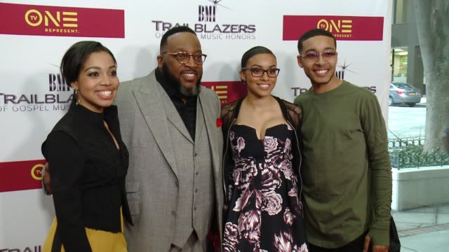 Marvin Sapp and guests at BMI Trailblazers of Gospel Music at Rialto Center for the Arts on January 14 2017 in Atlanta Georgia