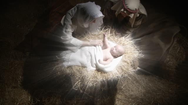 Maria e Giuseppe con il bambino Gesù
