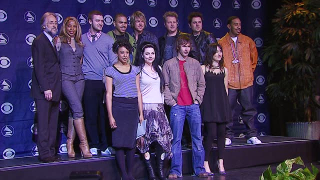 Mary J Blige Justin Timberlake Chris Brown Rascal Flatts Ludacris Corinne Bailey Rae Amy Lee of Evanescence James Blunt and KT Tunstall at the 2006...