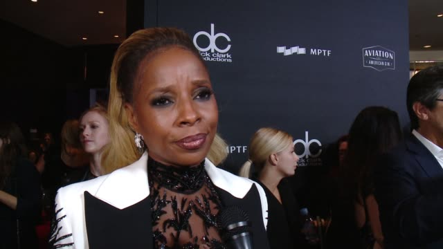 INTERVIEW Mary J Blige on how special is tonight as Hollywood comes together in one of the first ceremonies of the season to recognize great...