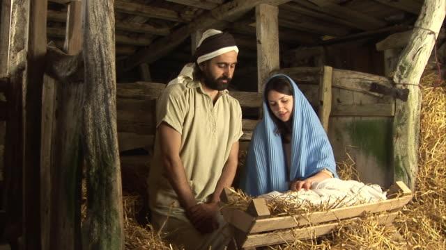 Mary & Joseph Weihnachten Nativity