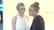 Mary Kate and Ashely Olsen at 2012 Fresh Air Fund Salute To American Heroes at Pier 60 on May 31 2012 in New York New York