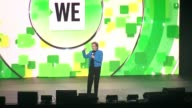 SPEECH Mary Robinson on why she is delighted to be here today at WE Day UN at Madison Square Garden on September 20 2017 in New York City
