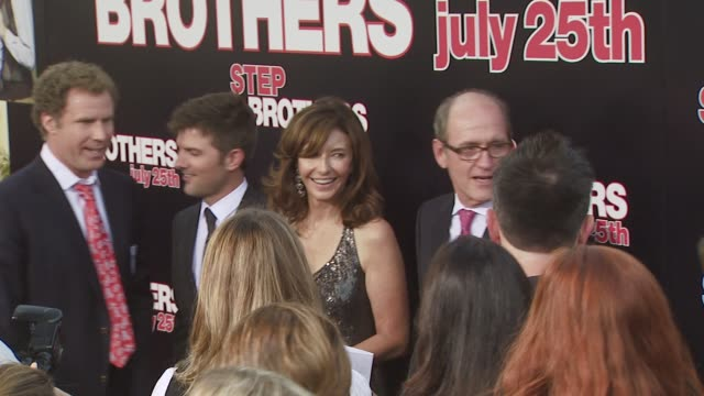 Mary Steenburgen Ted Danson Adam Scott Richard Jenkins at the 'Step Brothers' Premiere at Los Angeles CA