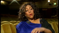 Mary Wilson interview in London Mary Wilson interview continued SOT highlights of her career being in Britain 1964 command performance at Palladium...