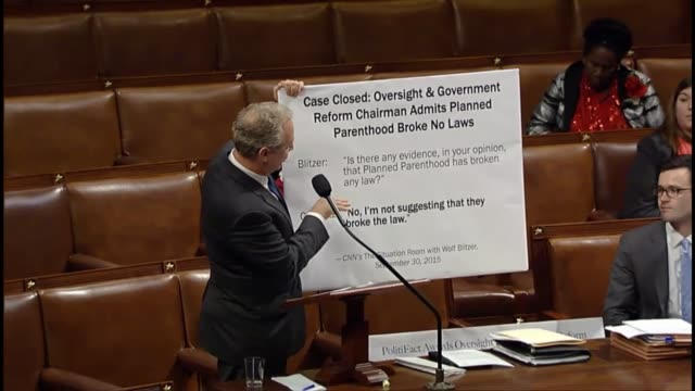 Maryland Rep Chris Van Hollen contrasts necessary legislative work before the Congress with key duplicative and inconclusive inquiries into abortion...
