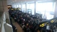 Mas de 200 vuelos fueron cancelados y otros retrasados por un apagon electrico registrado en el aeropuerto panameno de Tocumen uno de los principales...